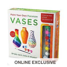Paint Your Own: Porcelain Vases