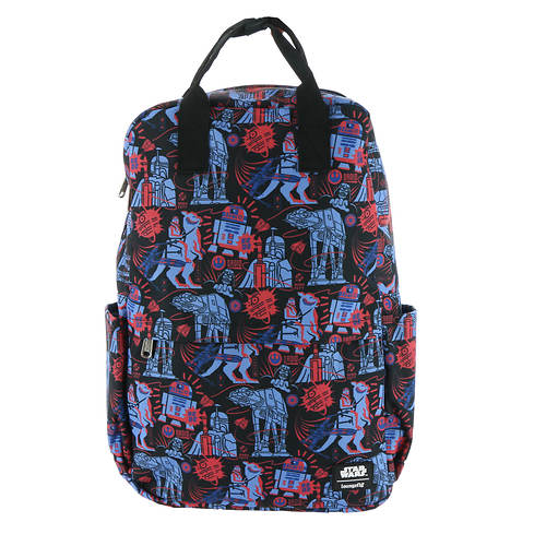 Loungefly Star Wars Empire 40th Square Backpack