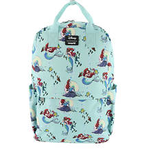 Loungefly Ariel Scenes Square Backpack