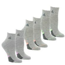 adidas Women's Cushioned II 3-Pack Quarter Socks