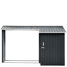 Hanover Multi-Use Shed with Firewood Storage