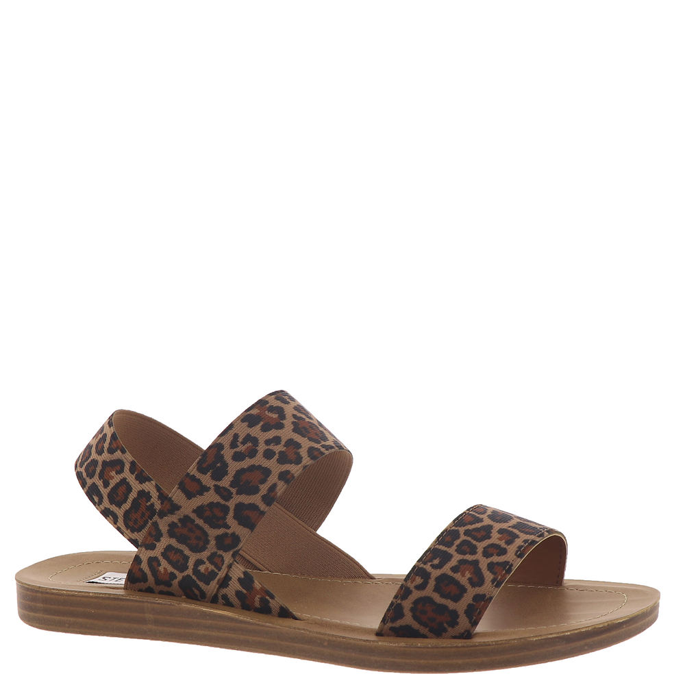 *Stretchy fabric upper with single vamp band and instep band *Easy pull-on styling with elastic slingback band *Lightly cushioned footbed *Man-made sole *1/2\\\