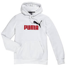 Puma Men's Essentials Big Logo Pull-Over Hoodie