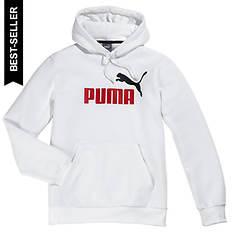 Puma Men's Essentials Big Logo Pull-Over Hoodie