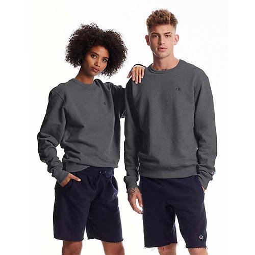 Champion® Men's Powerblend® Fleece Pullover Crew