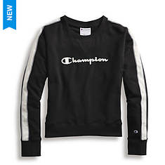 Champion® Women's Heritage Fleece Crew Shirt w/Satin Stitch Logo