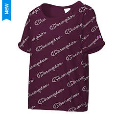Champion® Women's Heritage Tee w/Allover Logo