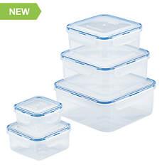 10-Piece Square Food Storage Set