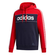 adidas Men's Essentials Color Block Fleece PO Hoodie
