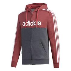 adidas Men's Essentials Color Block Fleece ZipUp Hoodie