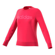 adidas Women's Essentials Linear Crewneck Sweatshirt