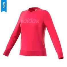 adidas Women's Essentials Linear Crewneck Sweatshirt