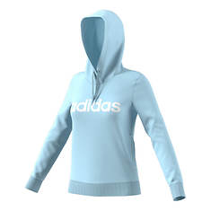 adidas Women's Essentials Linear Fleece Hooded Sweatshirt