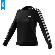 adidas Women's Essentials 3-Stripes Fleece Sweatshirt