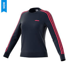 adidas Women's Essentials 3-Stripes Fleece Sweatshirt