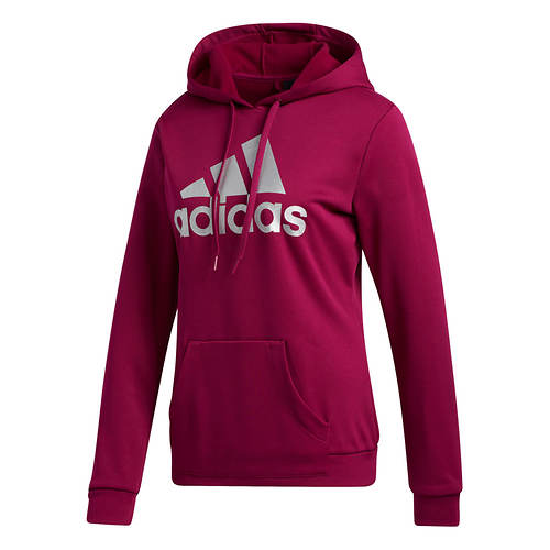 adidas Women's Game and Go BOS Fleece Pull-Over Hoodie