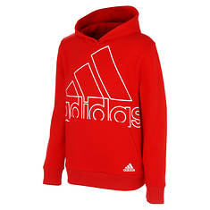 adidas Boys' BOS Fleece Hooded Pullover