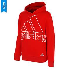 adidas Boys' BOS Fleece Hooded Pullover