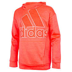 adidas Girls' Tunic Fleece Hooded Pullover