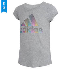 adidas Girls' Scoop Neck Tee