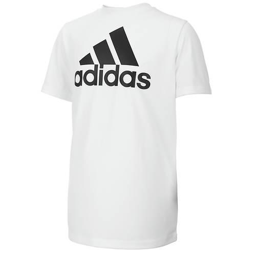 adidas Boys' Clima Performance Logo Tee