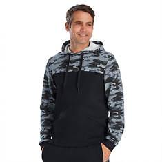 Men's Camo Pullover Fleece Hoodie