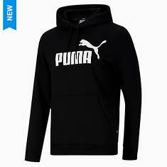 PUMA Men's Essentials Fleece Big Logo Hoodie