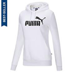 PUMA Women's Essentials Logo Pullover Fleece Hoody
