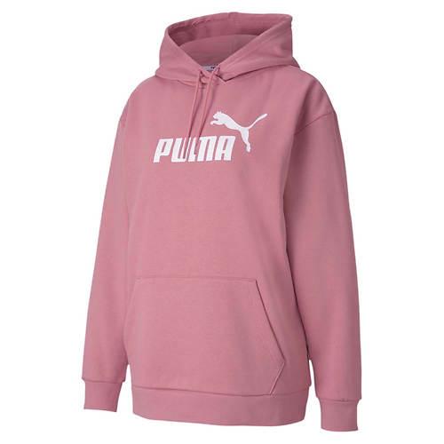 PUMA Women's Essentials Elongated Fleece Hoody