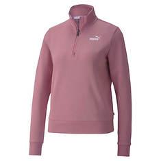 PUMA Women's Essentials 1/2 Zip Fleece Hoody