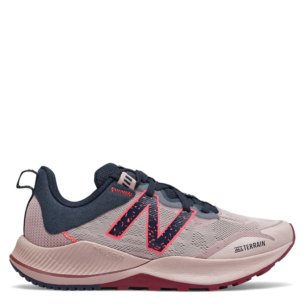 *Engineered for absolutely durability this shoe offers relentless trail running capabilities *Mesh upper with logo hardware detail *Tie closure *Lightly cushioned footbed *DYNASOFT midsole *AT TREAD outsole for unmatched grip