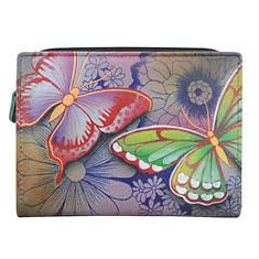 Anna by Anuschka Two-Fold Clutch Wallet
