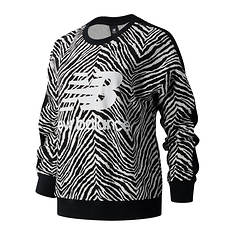 New Balance Women's NB Athletic Animal Print Crew