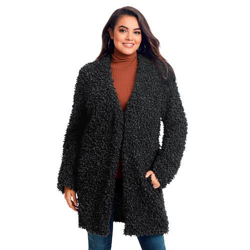 Textured Midy Coat
