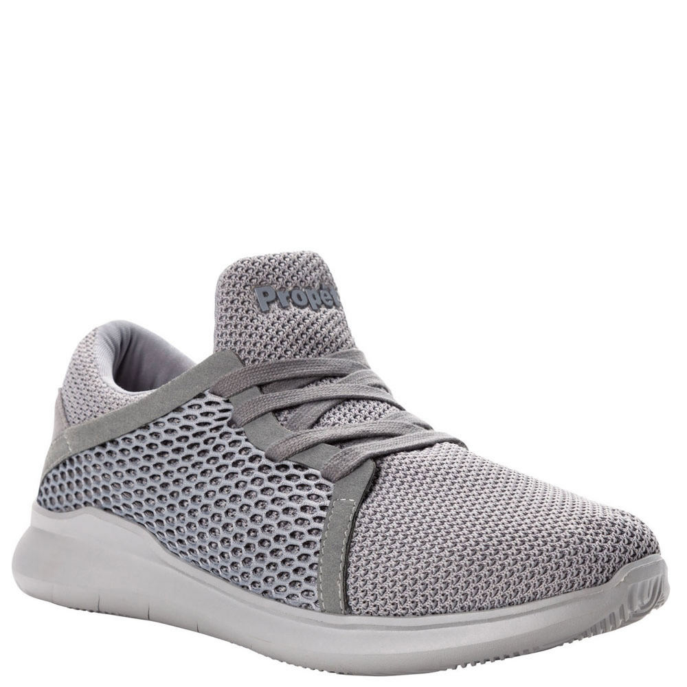 *Mesh upper with logo hardware detail *Tie closure *Removable lightly cushioned footbed *Lightly textured outsole