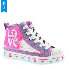 Skechers Twinkle Toes Twi-Lights 2.0 Lilac Love (Girls' Toddler-Youth)