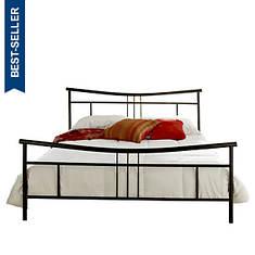 Pure Form Abbey Metal Platform Queen Bed