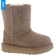 UGG® Classic II Glitter Leopard Toddler (Girls' Toddler)