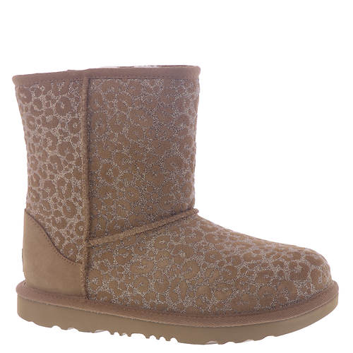UGG® Classic II Glitter Leopard (Girls' Toddler-Youth)