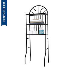2-Shelf Steel Bathroom Space Saver