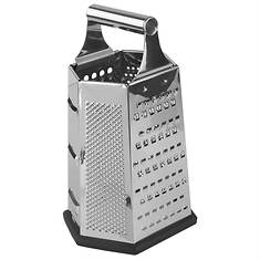 6-Sided Stainless Steel Cheese Grater