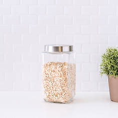 67 oz. Square Glass Canister