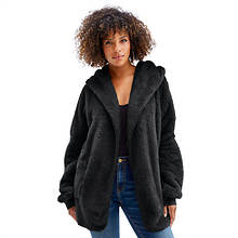 Sherpa Hooded Cardigan