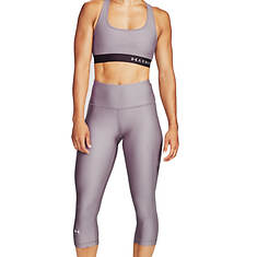 Under Armour Women's Heatgear Armour Hi-Rise Capri
