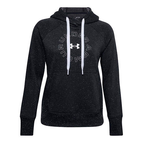 Under Armour Women's Rival Fleece Metallic Hoodie
