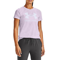 Under Armour Women's Live Sportstyle Graphic SS Crew