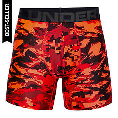 "Under Armour Men's Tech 6"" Seasonal Boxer Jock"