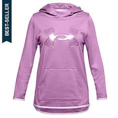 Under Armour Girl's Armour Fleece Big Logo Hoodie