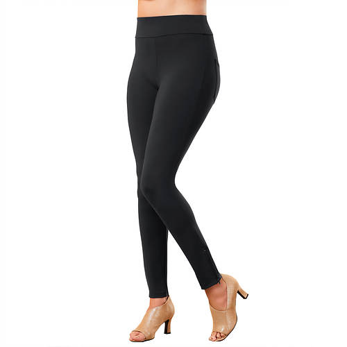 Ankle-Zip Slimming Legging