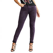 Stone-Washed Color Jean